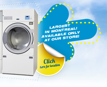 Largest in Montreal! Available only at our store! Click here for location